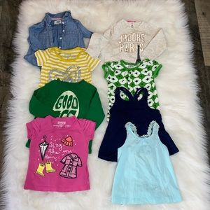 Baby Girls 12-18M Bundle of Tops. 16 Pieces